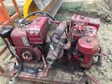Pair of Goreman Rupp 2.5 in trash pumps