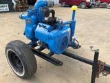 Gorman-Rupp 4 inch pull behind trash pump