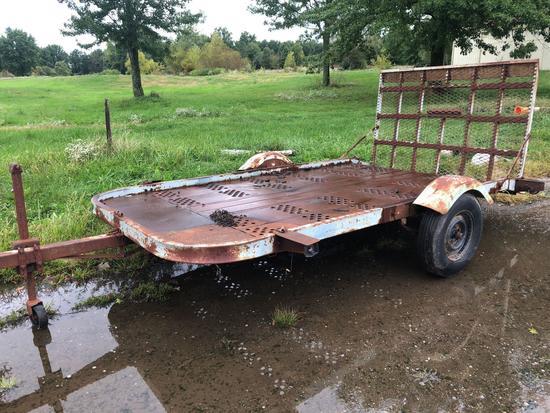 11 ft x 6 ft trailer.