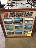 Michelob Classic 9 PGA Best holes framed picture