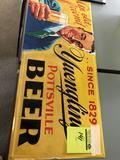 Yuengling Since 1829 Pottsville Beer (repop) Tin sign