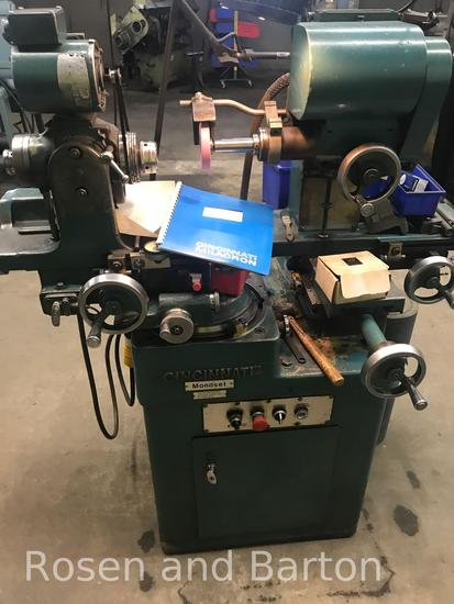 Cincinnati Monoset Cutter and tool grinder