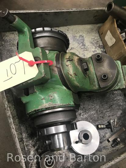 End mill sharpener attachment.