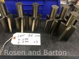 Lot of 7 M42 blanks, 3- 2.333 and 4- 2.300