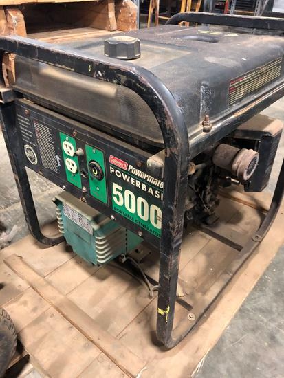Coleman PowerMate 10hp 5000 watt Generator