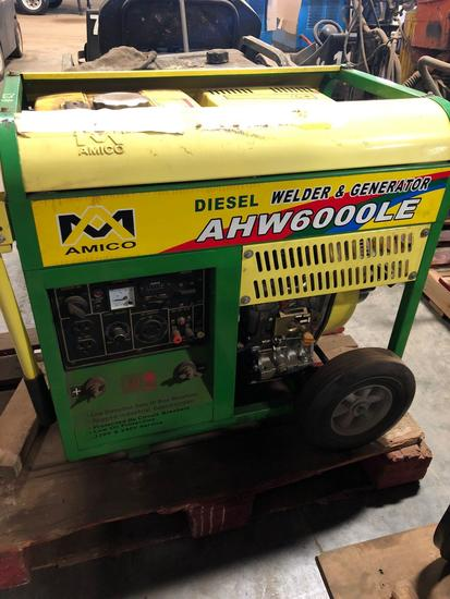 Amico Portable 6000 watt Diesel Generator/Welder