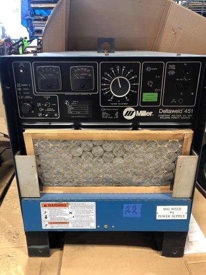 Miller DeltaWeld 451 Welding Power Source.
