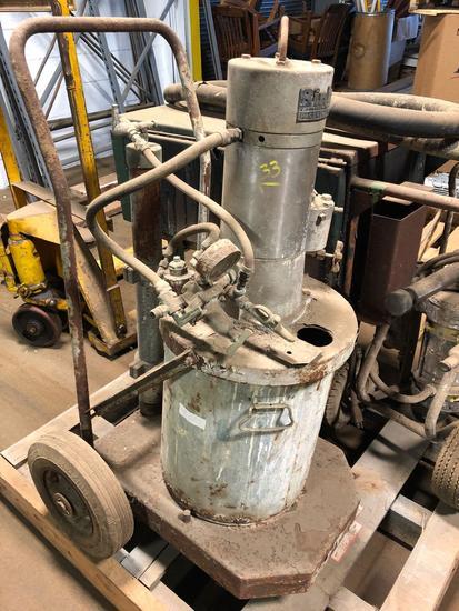 Binks Pacer Pump Model 300 tank sprayer
