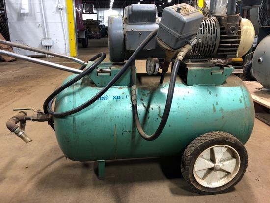 Dayton 20 gal horizontal air compressor