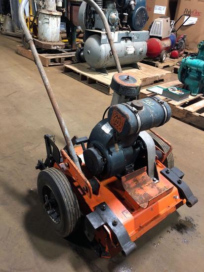 Ground Pounder Division Co, Tamper w/ transport wheel set.