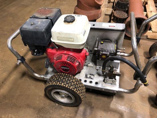 Honda 11 hp power washer. See pics
