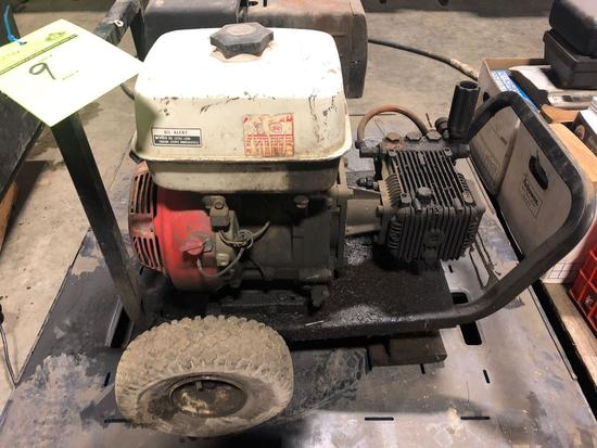 Honda 13 hp power washer & Honda portable concrete vibrator