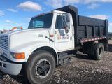 1995 International 4700 DT 408 Dump Truck.