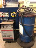 Lot of Schumacher 6/12 volt charger and greaser unit