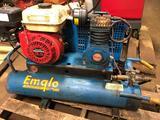 Emglo dual tank horizontal air compressor