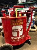 Tempo Tanker, 30 gal flammable liquid container/transport