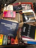 1 bulk lot of misc automobile manuals