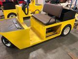 Pack Mule Electric Yard/Shop Cart (Yellow)