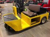 Pack Mule Electric Yard/Shop Cart (Yellow #2)