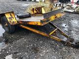 Eager Beaver 5000 lb cap tilt bed trailer
