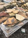 Pallet of landscape stone
