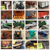 John Deere, Tools, Cadillac and more