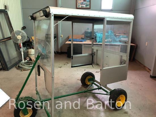 Homemade Aluminum John Deere 650 Enclosed Cab