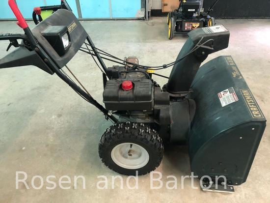 Craftsman 9 hp, 28 in Self Propelled Snow Thrower