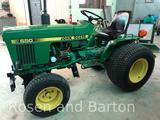 John Deere 650 Compact Utility Tractor w/ 60 in deck