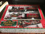 The Holiday Express Train set