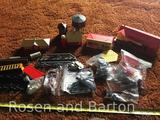 Several pieces of Plasticville and like items for model trains