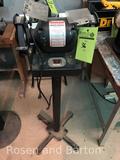 Duracraft dual pedestal bench grinder