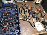 Misc group of various clamps