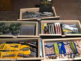 5 drawer loads of jig saw blades, carbide router tips and screw extractors.
