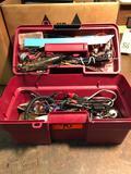 Electric testing box
