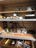 Shelf cleanout.