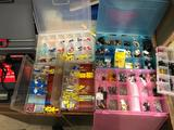 Soldering Lot w/ electric fittings and fuses