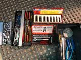 Clean mechanics box w/ sockets etc.
