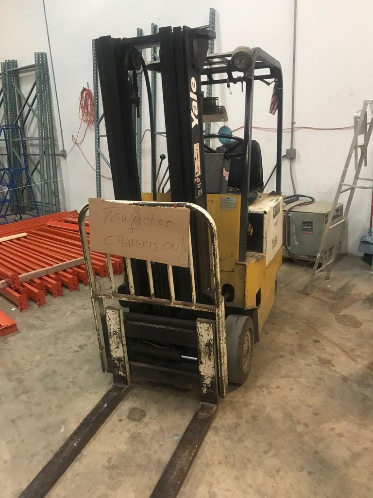 Holding Tanks, Forklift, Testing Equipment
