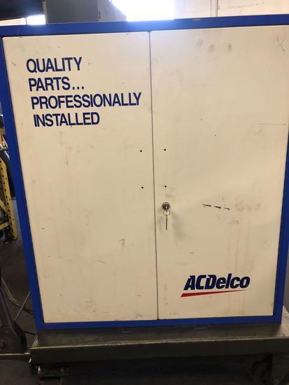 Like New AC Delco metal storage shelf.