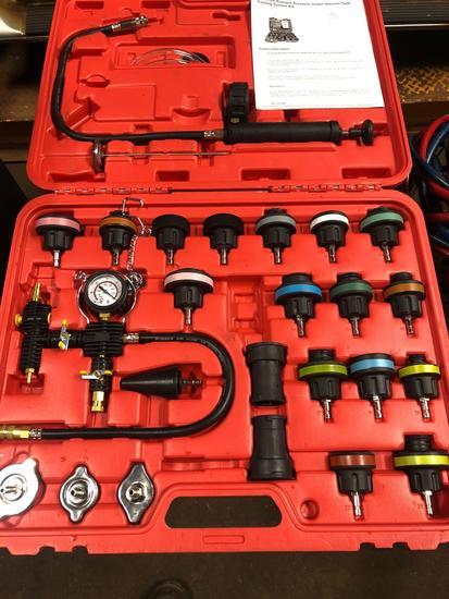 Universal Radiator Pressure Tester Vacuum Type Cooling System Kit