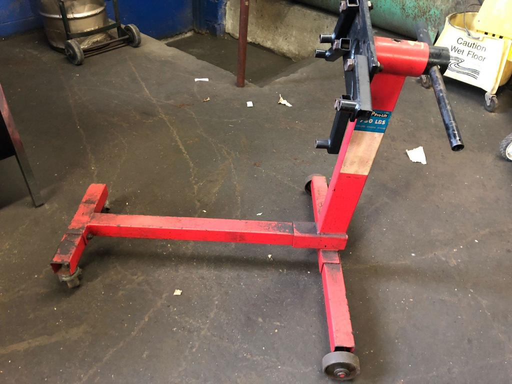 Mvp Pro Lift Deluxe Engine Stand Industrial Machinery
