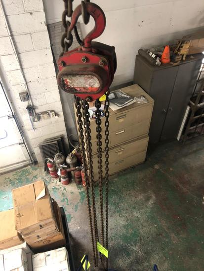 Coffing 1 Ton Chain hoist