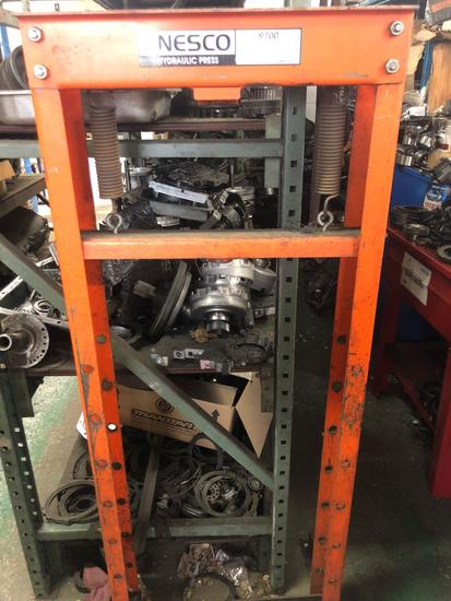 Nesco 12 Ton Hydraulic Press #9700