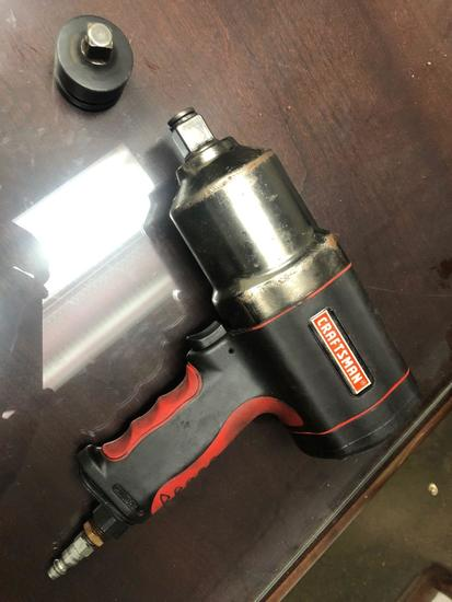Craftsman 3/4 in Impact w/ 3/4 to 1/2 in adapter