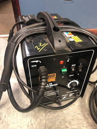 Chicago Electric MiG 170 Wire Feed Welder #61888 / 20ft Extension Cord