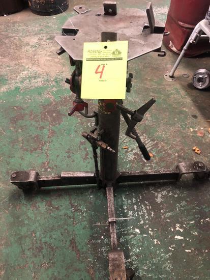 High Rise 1000 lb Air/Hydraulic Transmission Jack