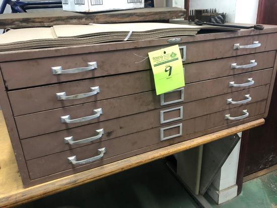 Vintage Cole Steel architecture/engineers drawers