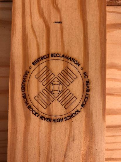 American Traditonal Wooden Sign