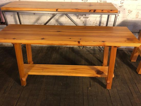 Hand Crafted Wooden Sofa Table